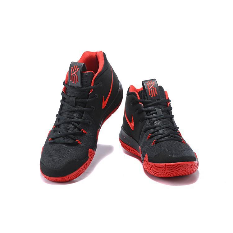 sale retailer 15042 78243 2018 Nike Kyrie 4 Black Red