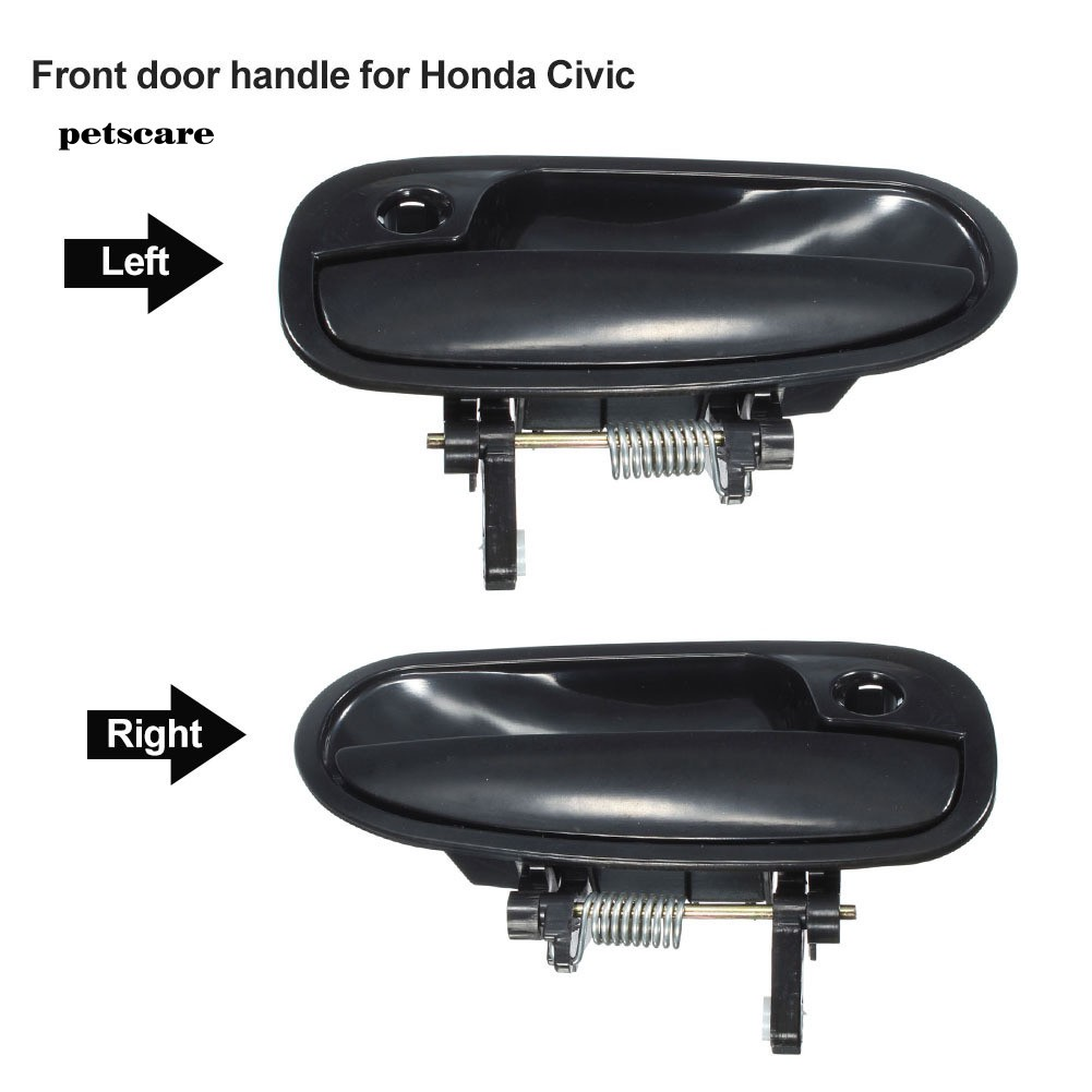 Manual Remote Side View Door Mirror LH Left Driver Side for 96-00 Honda Civic