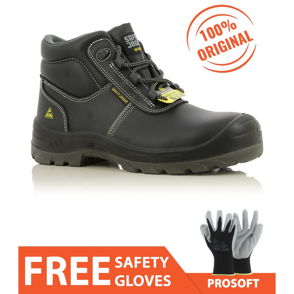 ea620c1bd49 Safety Jogger Eos S3 High Cut Safety Shoes