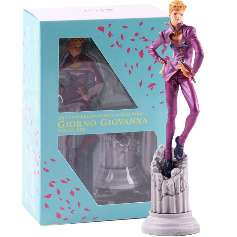 JoJos Bizarre Adventure Figure 14cm PVC Model Giorno Bruno Ballpoint Pen In Box