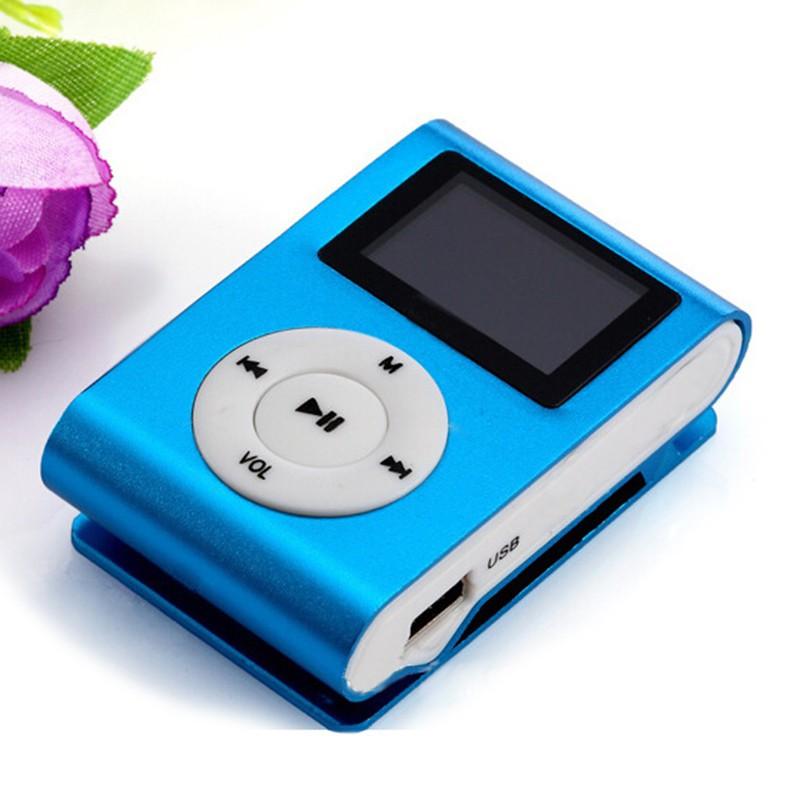 USB Mini Clip MP3 Player LCD Screen Micro SD TF Card Slick Stylish Sport Player | Shopee Philippines