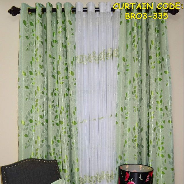 Image result for green brocade curtains