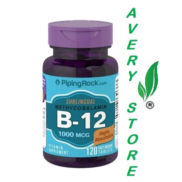 Methylcobalamin B-12 1000 mcg 120 fast dissolve tablet Shopee Philippines