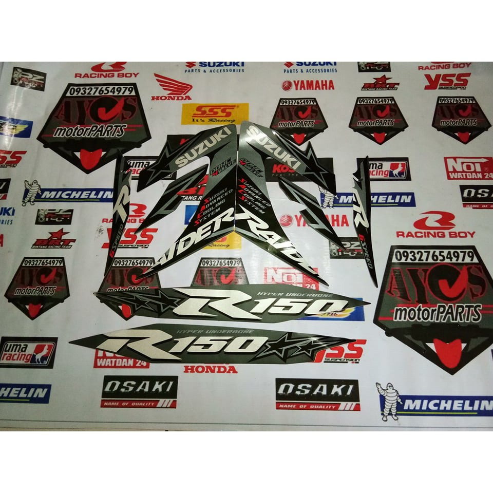 Xrm 125 rs tribal decals shopee philippines