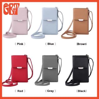 7664fb02f366 GBT 6 Colors Women's Crossbody Bag Wallet with Card Slots | Shopee ...