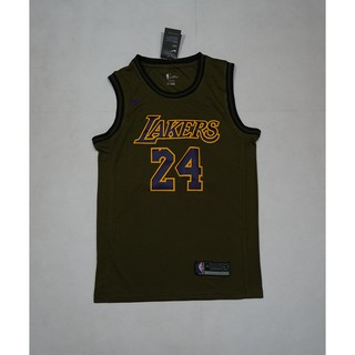 outlet store fb31a d78ae Nike LeBron James #24 Los Angeles Lakers NBA Jersey discount ...