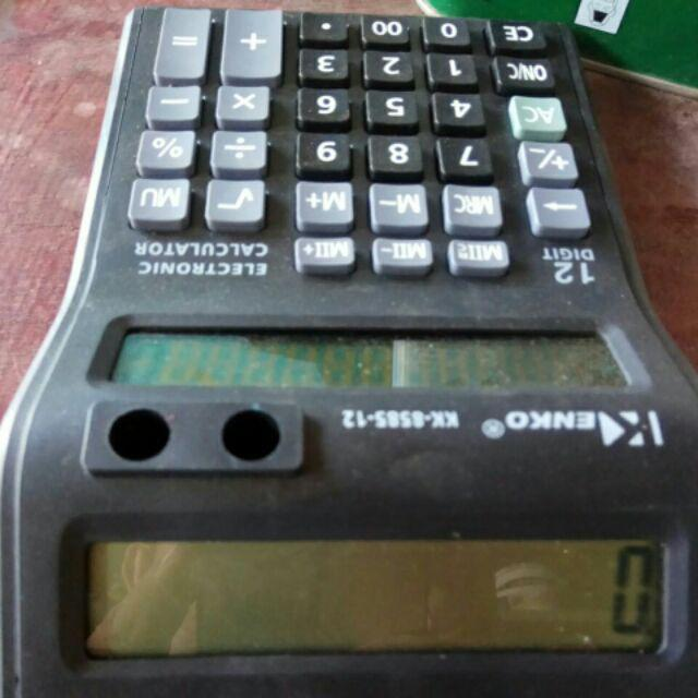 COD Electronic Calculator Dual Display KK | Shopee Philippines