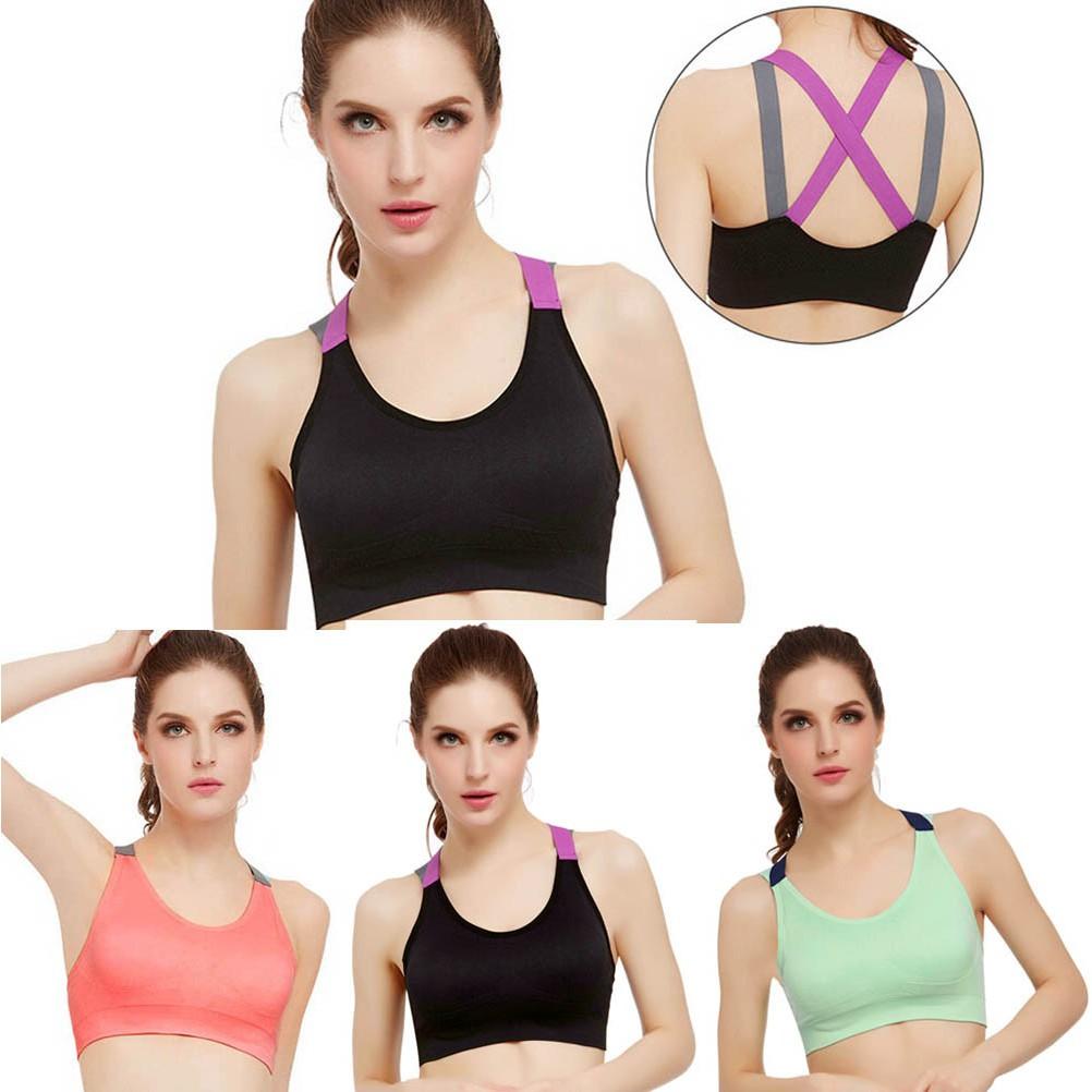 799446aac1  ehappy 2 Pcs Women Triangular Sponge Bra Pads Breathable Seamless Sports  Bra Pads