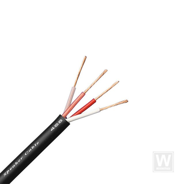 Canare 4S8 Speaker Wire (Bare Wire Only) (SOLD PER METER