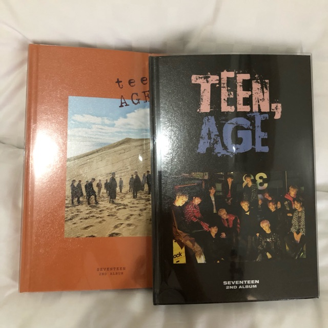 [ONHAND] Unsealed Seventeen 2nd Album 'Teen Age'