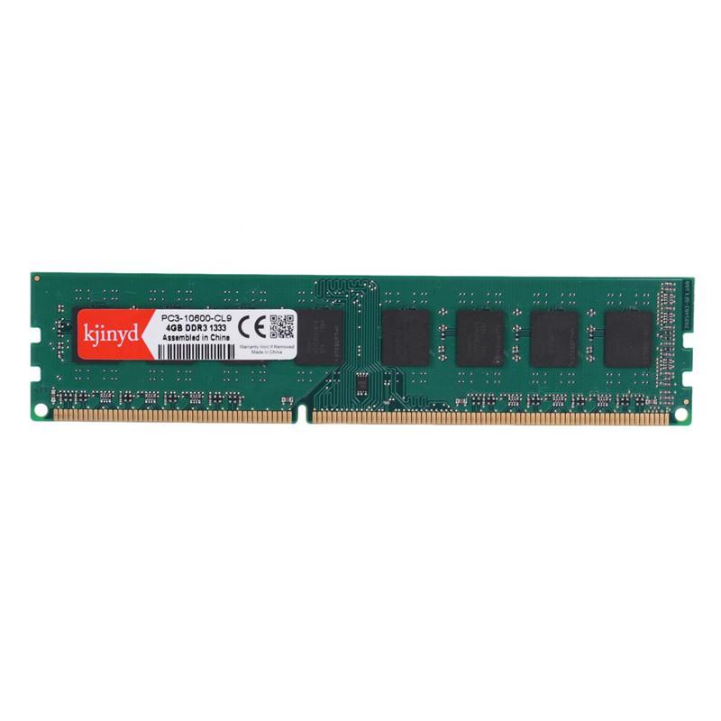 Kjinyd Ddr3 4G Pc Ram Memory Dimm 1 5V 240Pin Desktop Ram Internal Memory  Ram For Computer Games Ram