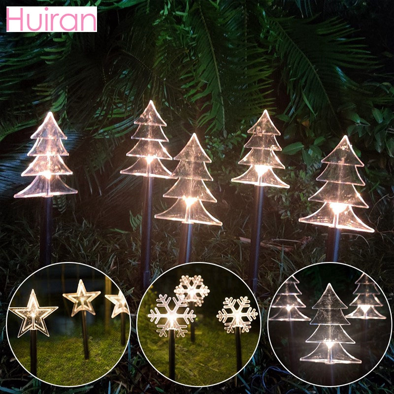 Star Snowflake Christmas Garden Light Christmas Decoration For Home Cristmas Decor Navidad 2020 Happy New Year 2021 Led Light Shopee Philippines