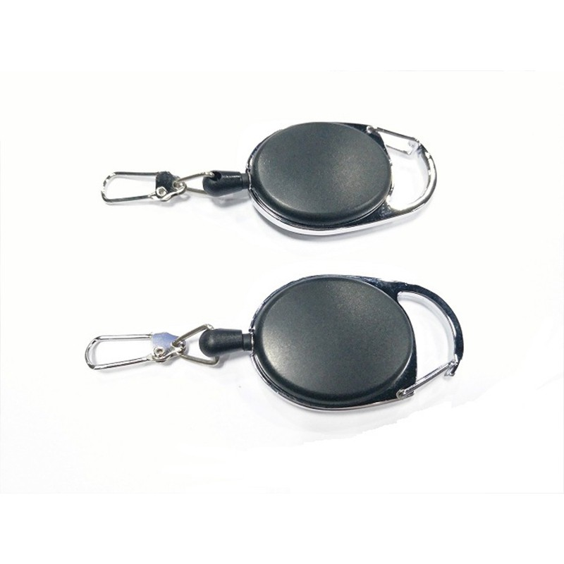 e88e299d00c6 Anti-theft anti-lost keychain elastic key ring telescopic keychain