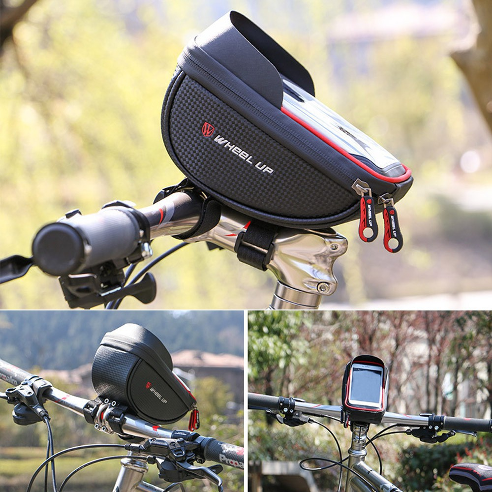 ka-Waterproof Case Pouch Bag MTB Bike Bicycle Frame Touch Screen For iPhone 7/8 | Shopee Philippines