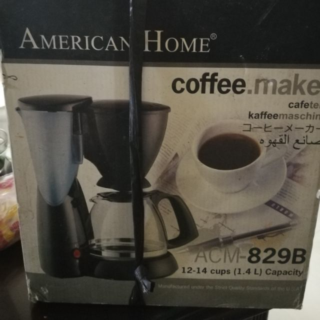 American Home Coffee Maker Shopee Philippines