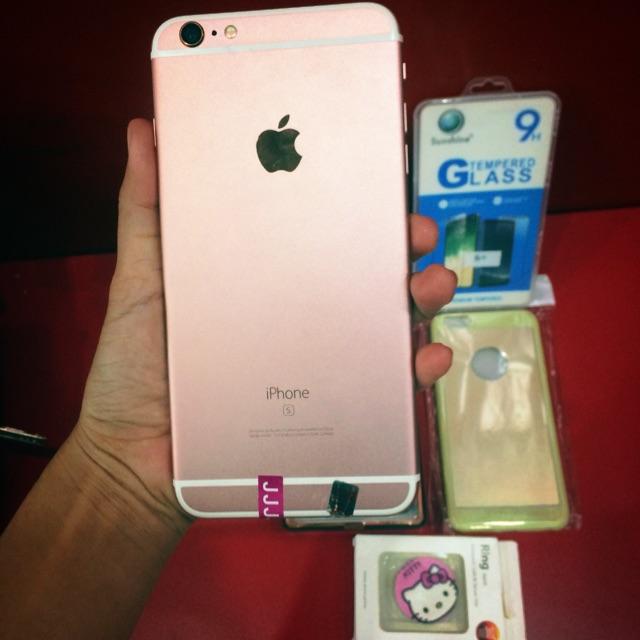 Original Iphone 6s Plus Rosegold Shopee Philippines