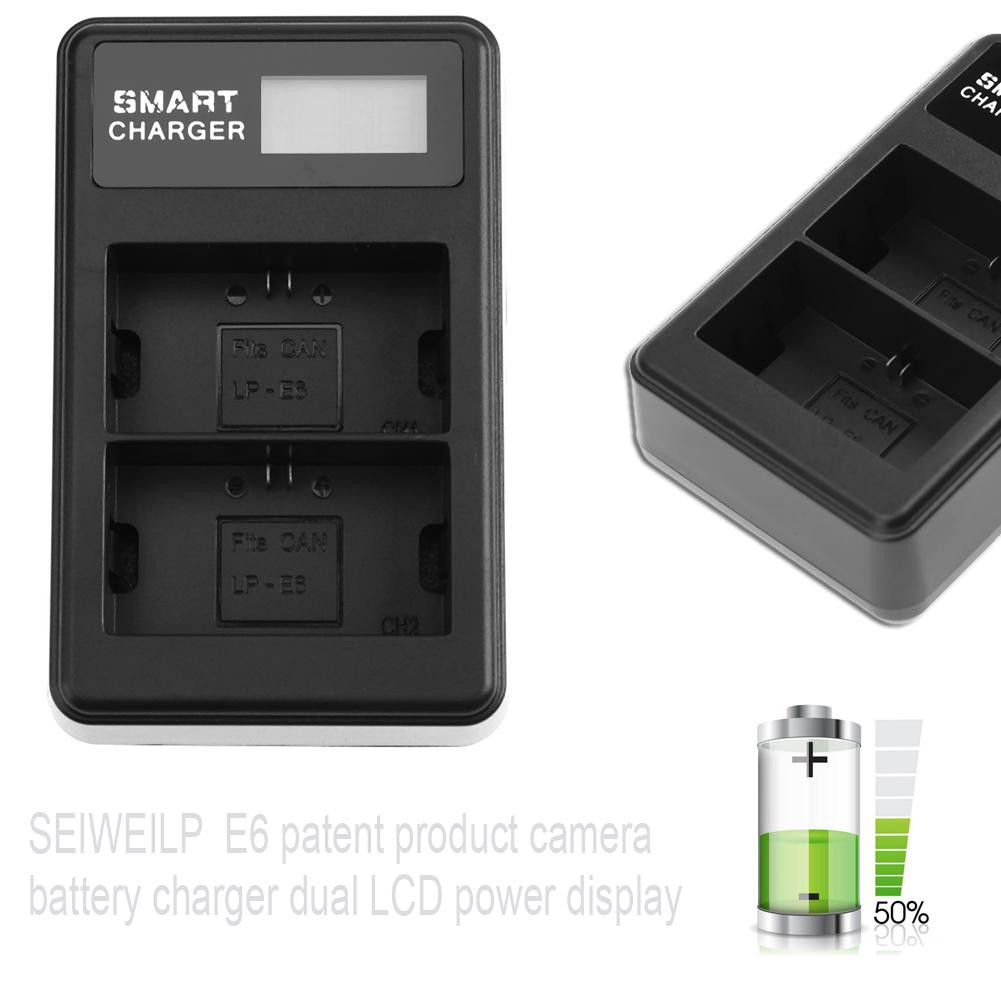 Usb 5v Input Dual Camera Battery Charger With Lcd Display For Fuji Lithium Variable Current Up To 2a By L200 Np W126 Shopee Philippines