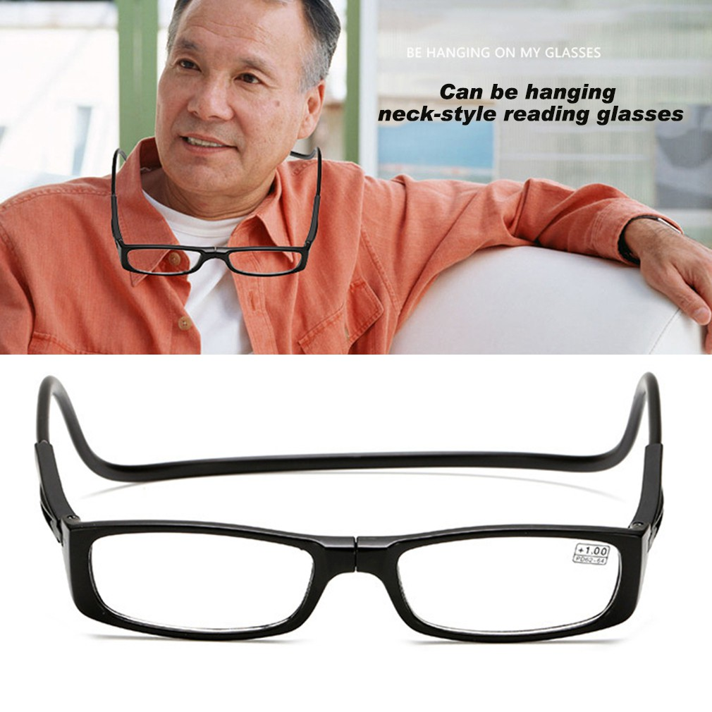 99d9905bc1 Magnetic Foldable Square Shape Hanging Neck Glasses