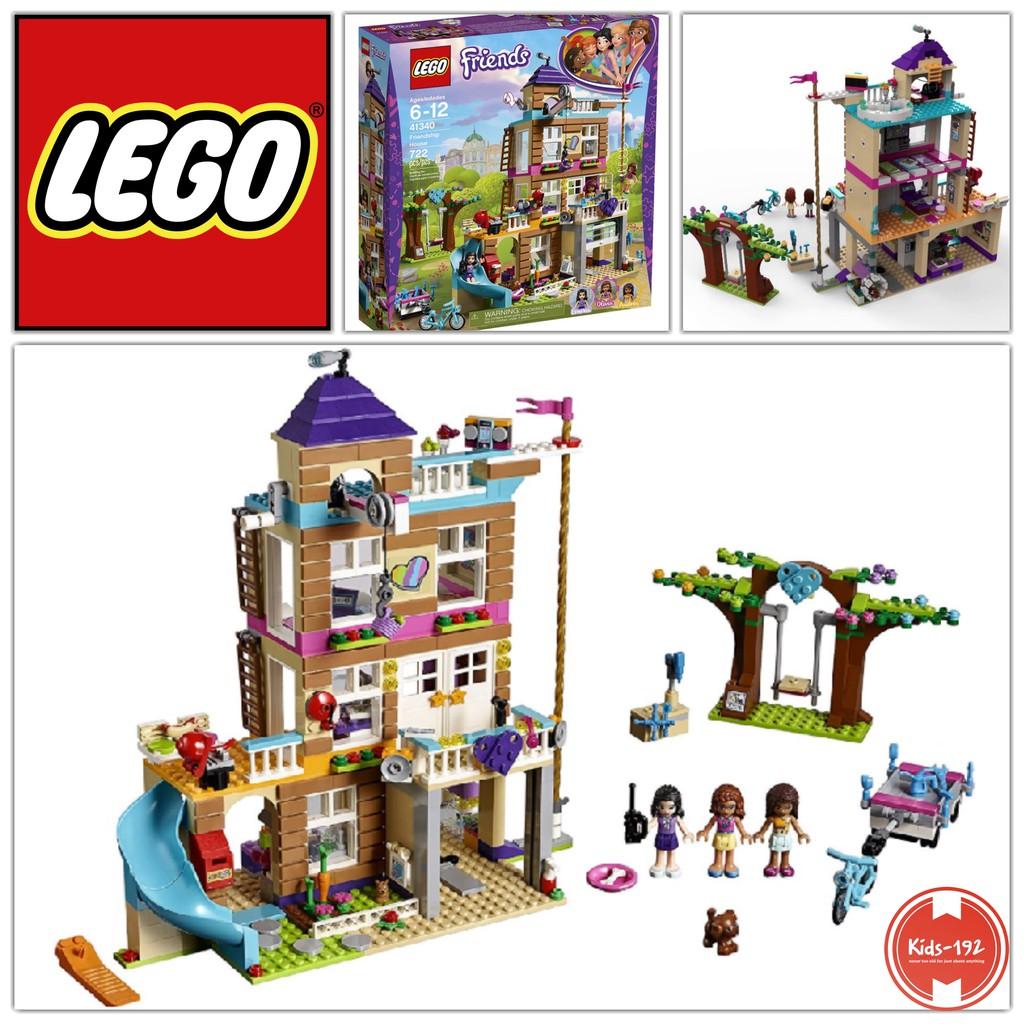 Lego Friends Friendship House 41340 Building Set 722 Pcs Shopee