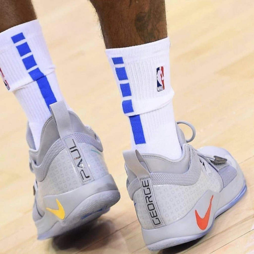 premium selection 30426 6b67e Nike StephenCurry basketball shoes PlayStation x PG2.5 Paul George PS joint  grey basketball shoes BQ
