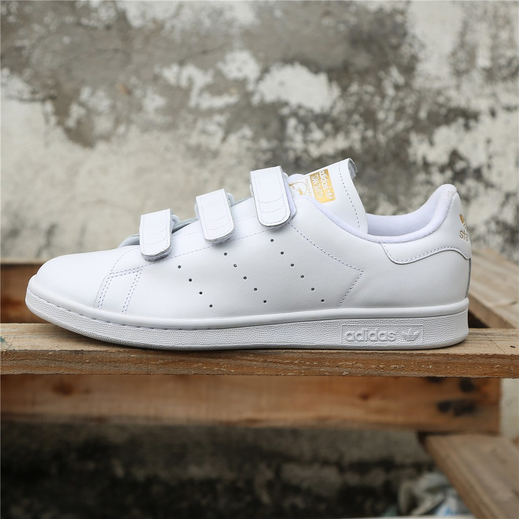 Sentirse mal Se infla Vacaciones  factory Outlet 100% Original Adidas Stan Smith Magic button Casual Shoes    Shopee Philippines