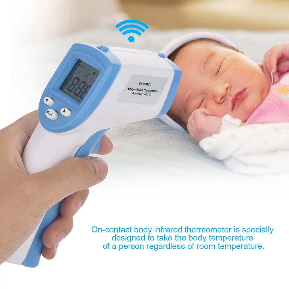 【Transit Time 7-15 Days】Forehead Thermometer Non-Contact Infrared Temperature for Baby Kids and Adults Accurate Instant Reading Forehead Thermometer with LCD Display