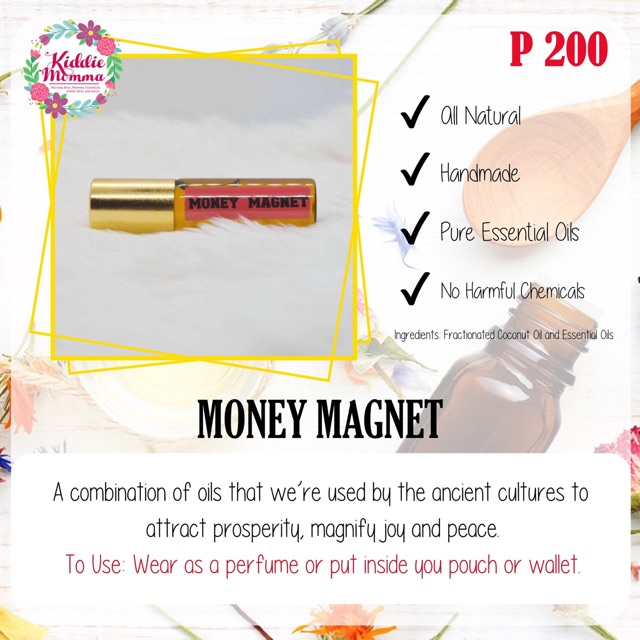 Kiddie Momma Money Magnet Essential Oil Roll-on