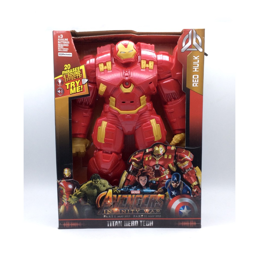 TOYS TITAN HERO HULK BUSTER WITH LIGHT AND SOUND