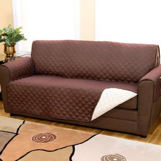 T Reversible Couch Sofa Cover 92