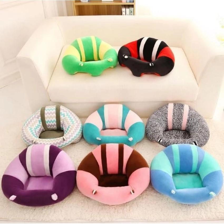 Cotton Baby Support Seat Soft Chair Car Cushion Sofa Plush Cute Pillow Pads Toys
