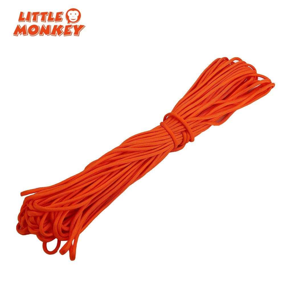 30M 550 Paracord Parachute Cord Lanyard Mil Spec Type III 7 Strand Core100FT X1 Paracords