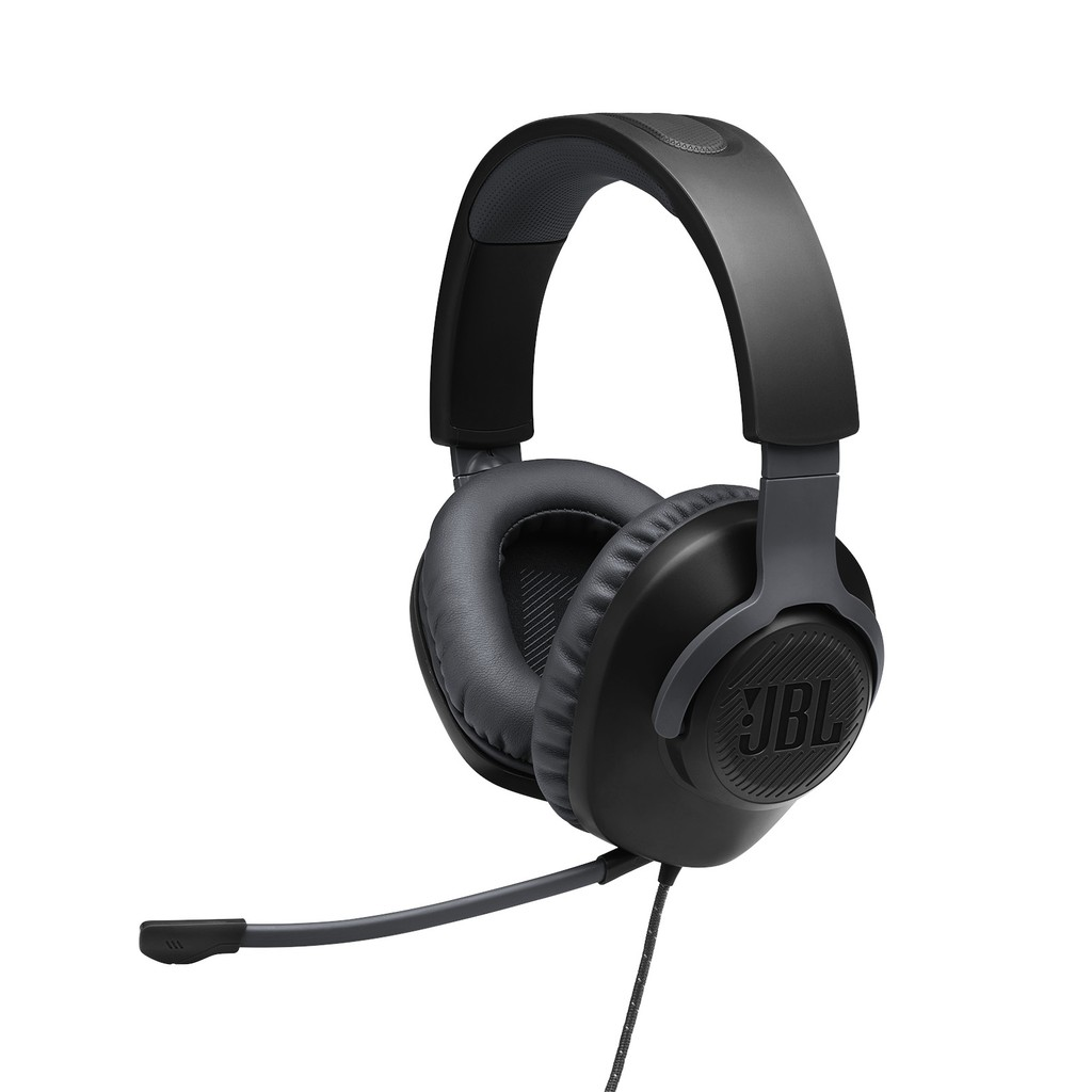 Jbl Quantum 100 Gaming Headset With Detachable Mic Jbl T110 Gaming Sticker Shopee Philippines
