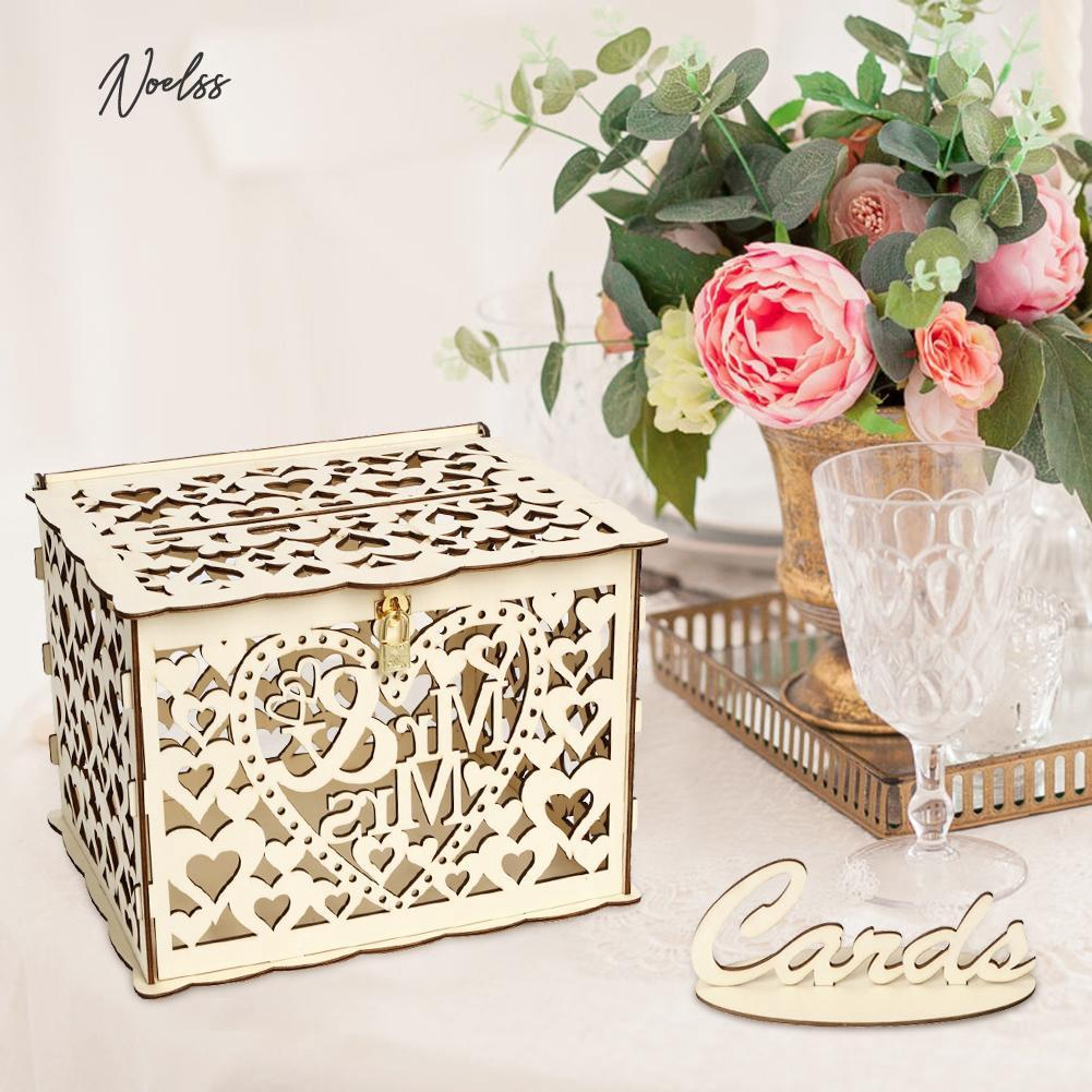 Box Container Wedding Party Decor