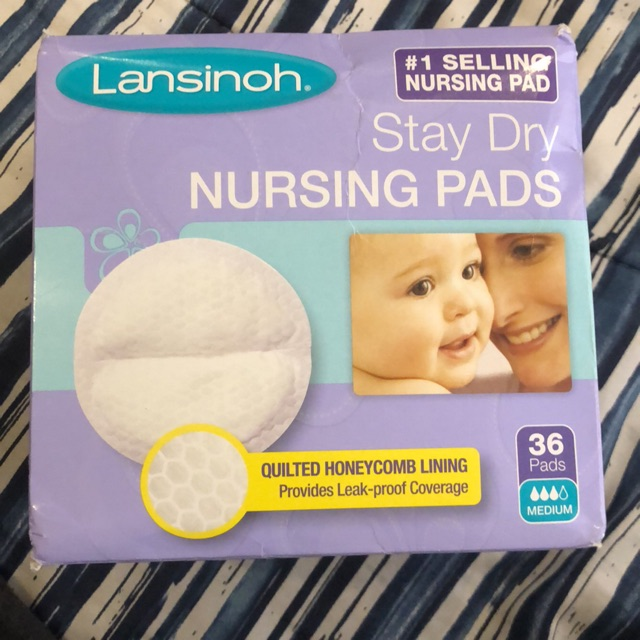 Other Baby Safety & Health pack Of 6 Lansinoh Stay Dry Nursing Pads Disposable Medium 36 Pads
