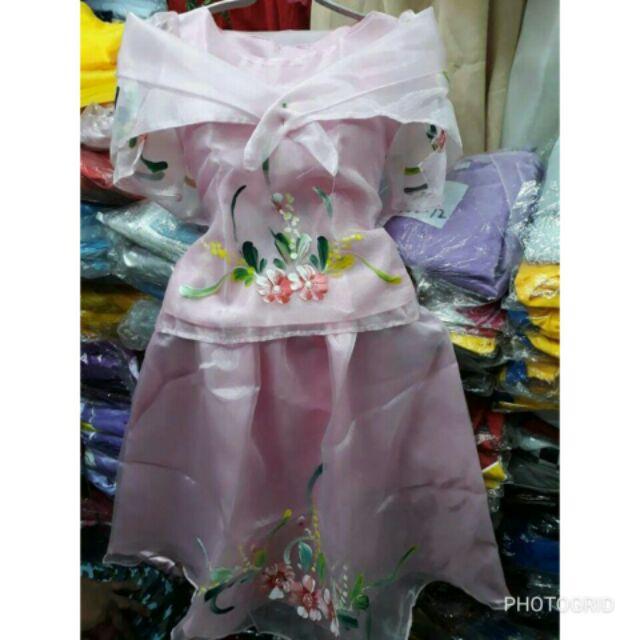 Modern Filipiniana For Kids Shopee Philippines