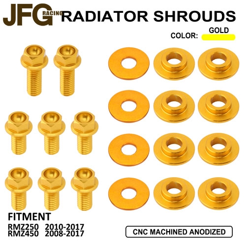Fastener Screw of Radiator ShroudsFor Suzuki RMZ450 RMZ250