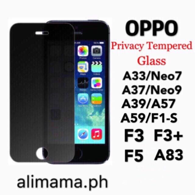 Tempered Glass Vivo Oppo F1s A37 A71 A83 F3 F5 F7 F9 case | Shopee Philippines