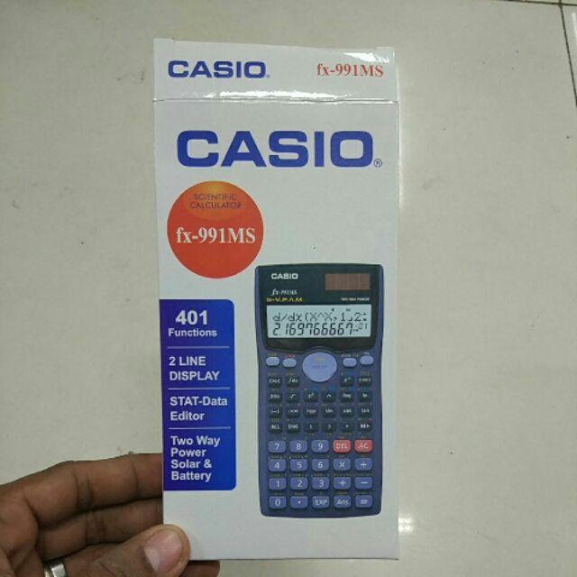 Casio Fx 991ms Scientific Calculator Shopee Philippines