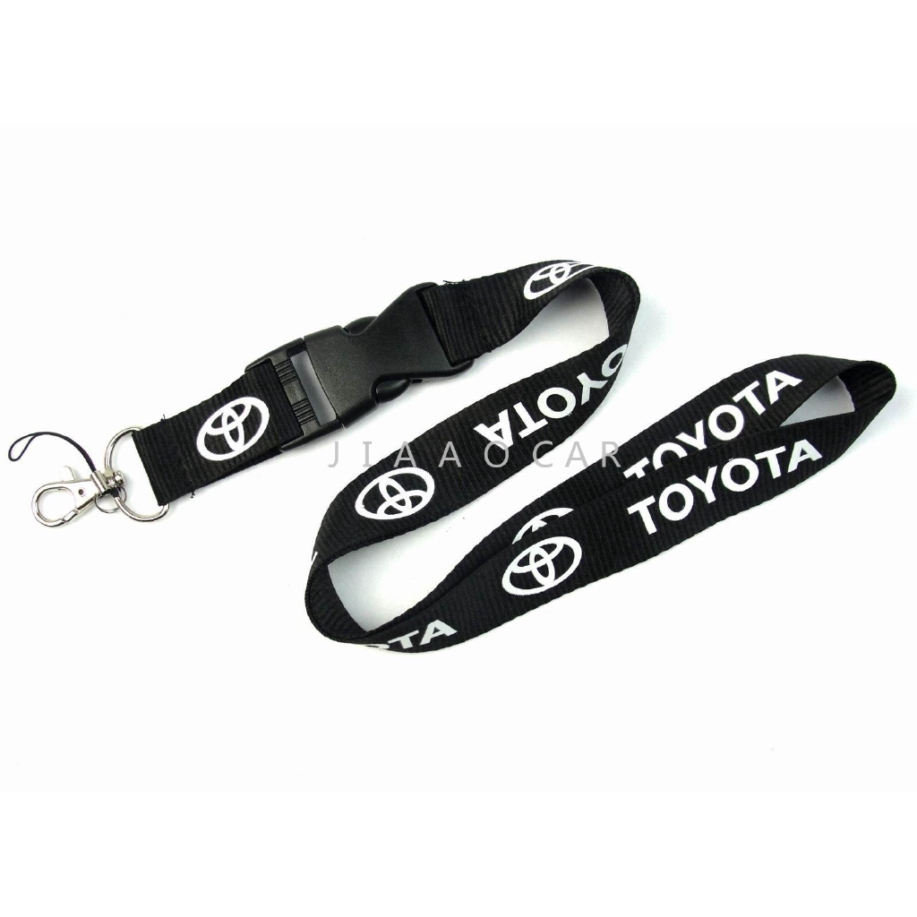 Official Licensed Jeep Compass Black Leather Auto Key Chain