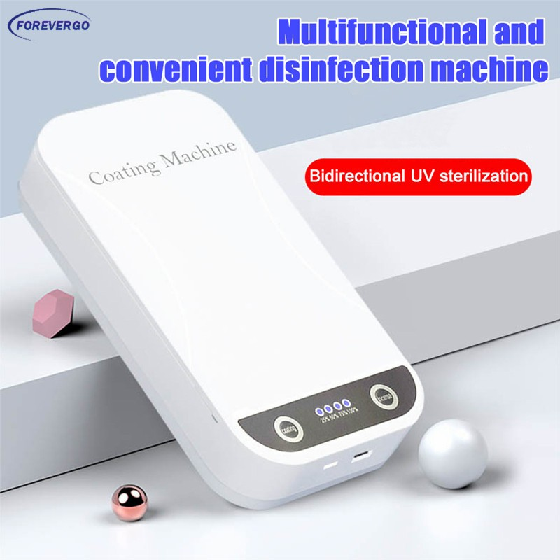 Mayyou UV Cleaner Box,Disinfection Box for Mobile Phone Toothbrush Cleaner Portable Disinfection