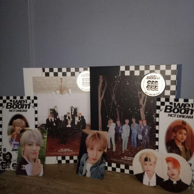 NCT DREAM We Boom 3rd mini album | Shopee Philippines