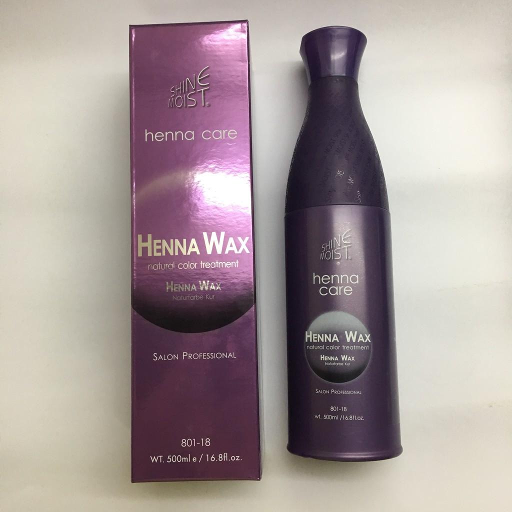 Shine Moist Henna Wax 500 Ml With Free 120ml And Keratin Treatment 50ml