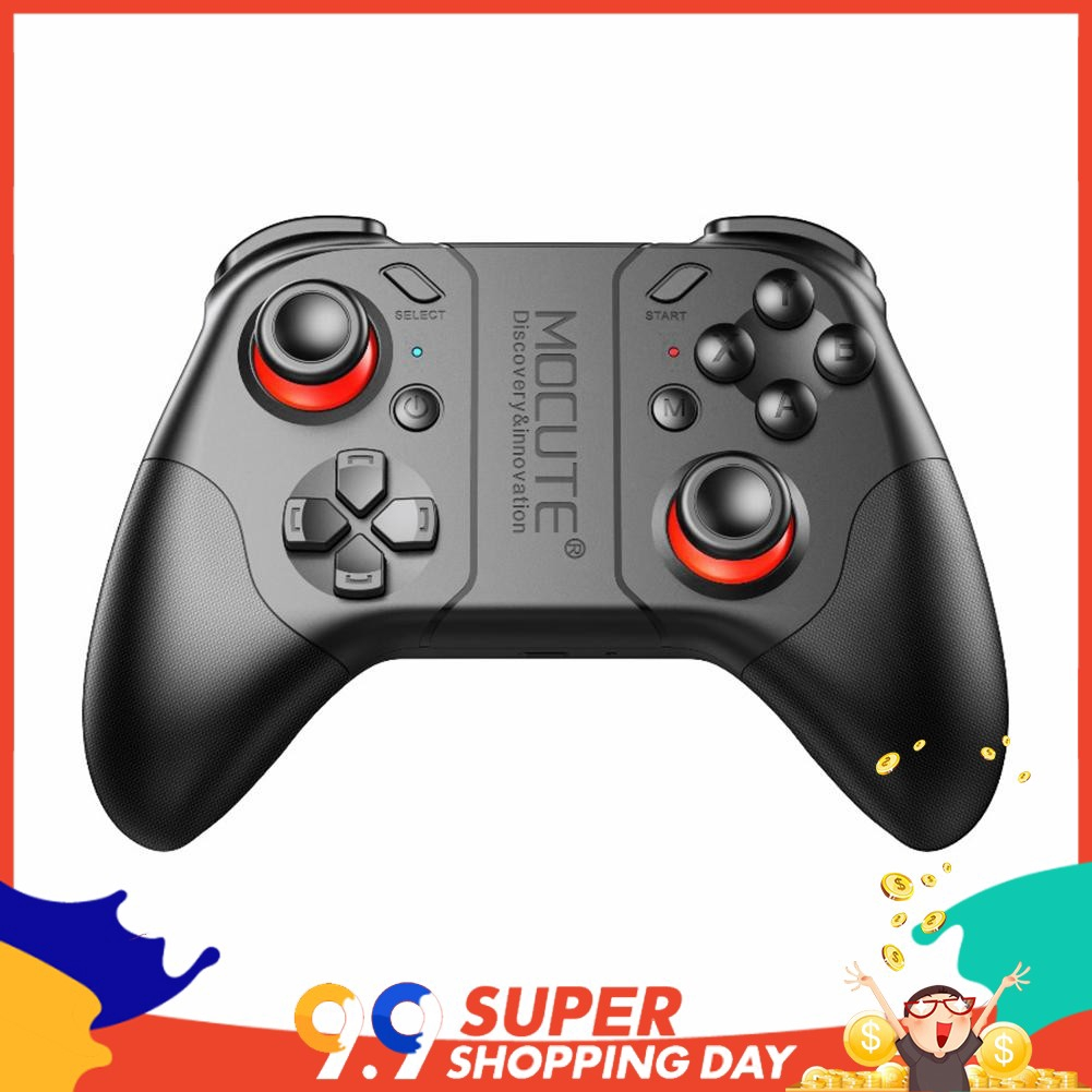 Mocute 053 Bluetooth Gamepad Android Joystick VR Wireless Controller for PC  fitill w