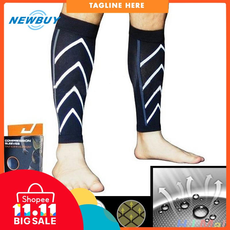 8235376596 LP Basketball Sport Leg Sleeve Knee Protective Compression Calf Stretch  Brace | Shopee Philippines