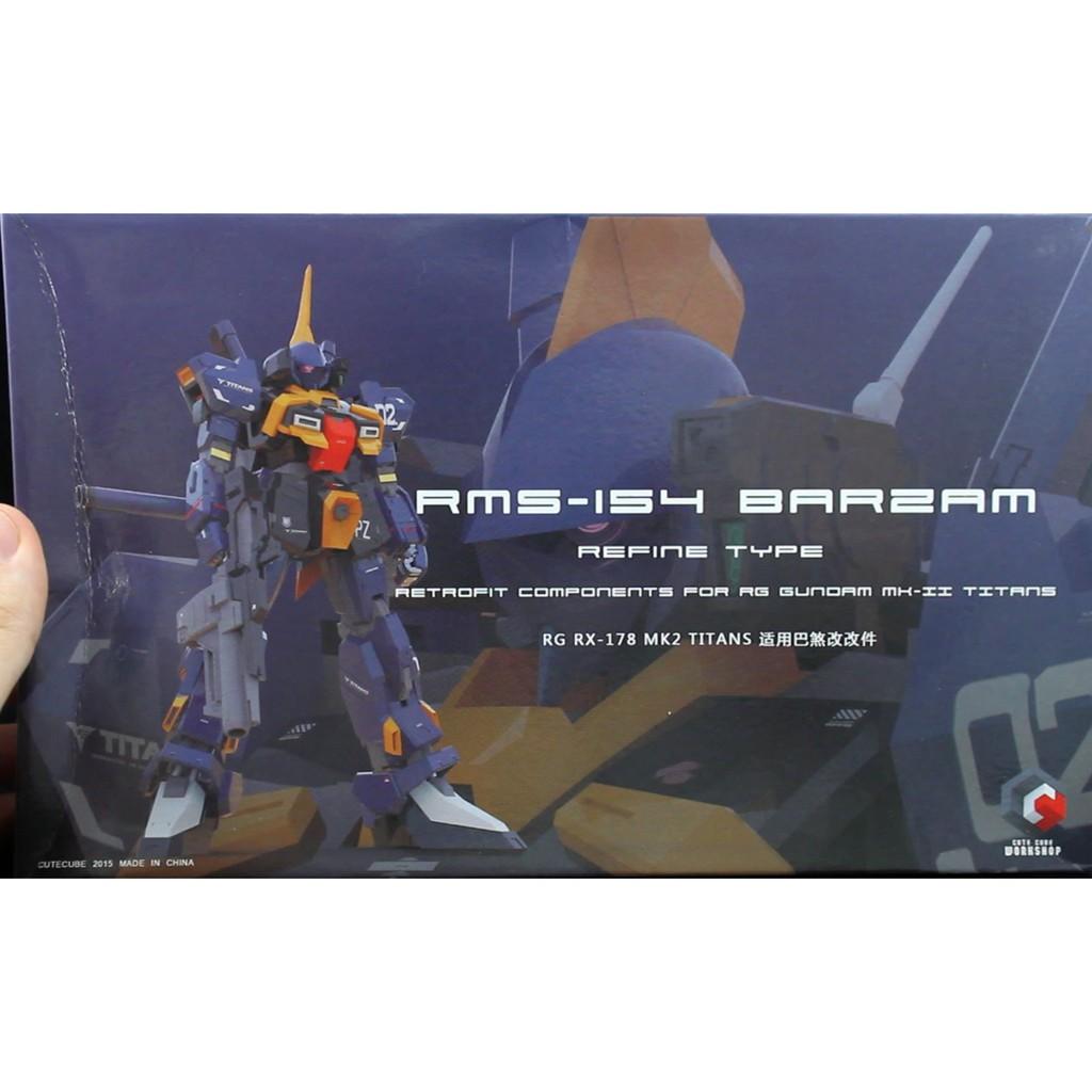 Refined Barzam Conversion Kit for RG Gundam Mk-II