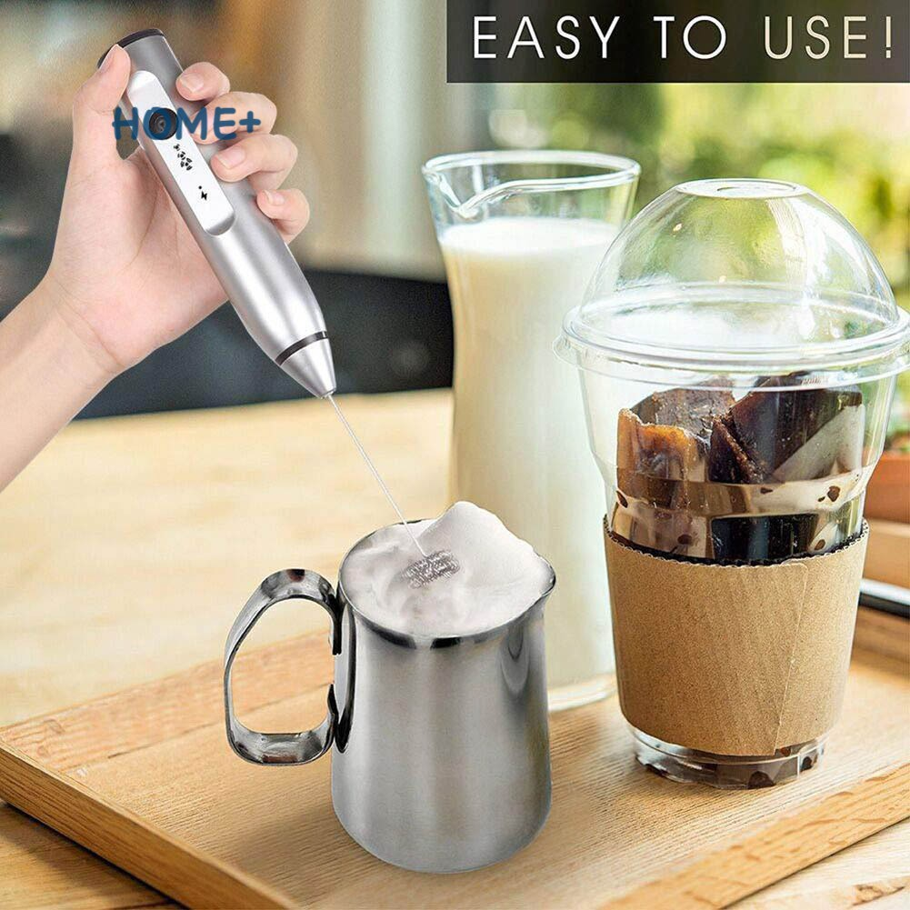 Beater Electric Hand-held Drink Milk Coffee Frother Mixer-Kitchen Foamer US