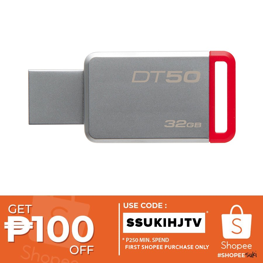 Kingston Datatraveler Se9h 32gb Flash Drive Dtse9h Shopee Flashdisk Hp V250w Philippines