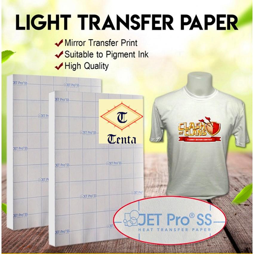 Jetpro Light Transfer paper A4