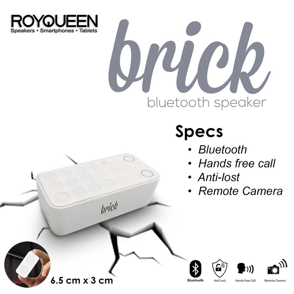 Royqueen Brick Remote Camera Bt Al Speaker Shopee Philippines Sony Brh10 Bluetooth With Handset Function