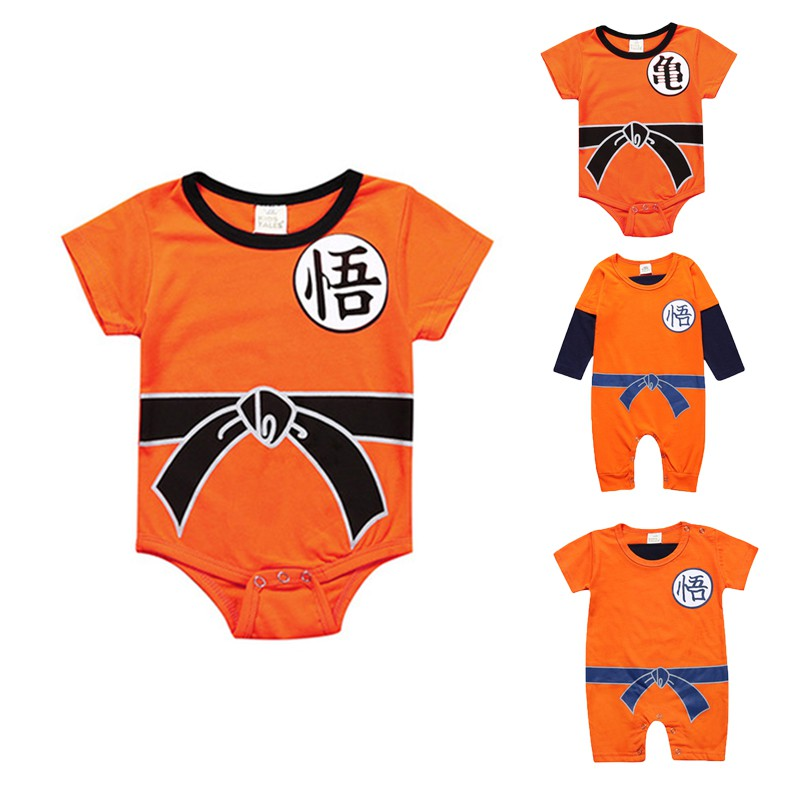 e6c77687a65e1 Infant Baby Kids Boy Dragon Ball Goku Costume Romper Bodysuit Playsuit  Outfits | Shopee Philippines